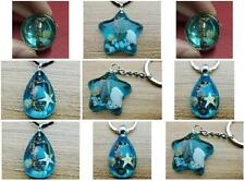 Dragon Insect Blue Vogue Ring Pendant Keychain accessories retro jewelry