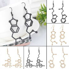 Science Students Drop Dangle Earrings Chemical Molecular Formula Jewelry