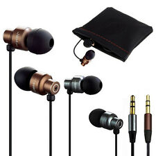 Bass Stereo In-Ear Earphone Headphone Earbud Metal Headset 3.5mm For MP3/4 Ipod