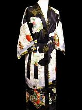 Comfortable Women's Silk Kimono Robe Gown sleepwear Fairy  Sz: S M L XL XXL 3XL