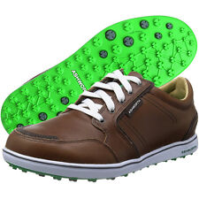 Ashworth Cardiff ADC Leather Spikeless Golf Shoes - Brand New