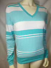 TOMMY HILFIGER womens long sleeves v neck sweater new nwt