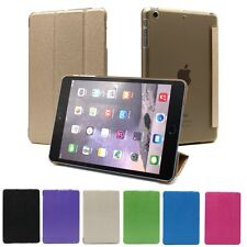 Magnetic Smart PU Leather Cover With Hard Plastic Back Case For iPad Mini 1/2/3