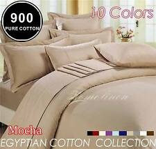 900TC EGYPTIAN COTTON Quilt/Doona/Duvet Cover Set King/Queen/Double/Single Bed