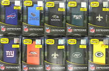 Otterbox Defender Cases w/ Clip for iPhone 5 S & 6  NFL Edition