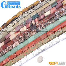 "15x20mm Rectangle Gemstone DIY Crafts Making Loose Beads Strand 15""11 Materials"