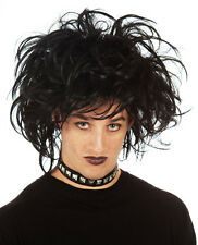 Edward Scissorhands Goth Punk Emo Black Costume Wig (High Quality Fibre) Mens