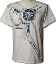 F4U Corsair WW2 WWII Airplane T-shirt with HUGE print on front -- Adult sizes