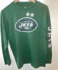 """new NEW YORK JETS """"Vintage look"""" Graphic L/S  shirt (NFL Team Apparel)"""