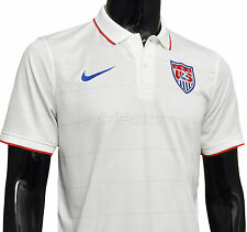 New $90 Nike Mens US Soccer Jersey USA National Team - White / Home