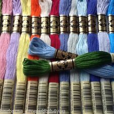 1-60 DMC CROSS STITCH SKEINS/THREADS - PICK YOUR OWN COLOURS