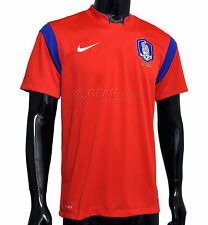 New $90 NIKE South Korea Soccer Jersey Mens - 2014/15 Home Red
