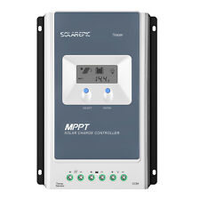 EPEVER MPPT Solar Charge Controller Battery Regulator Max100V PV Input 12V/24VDC