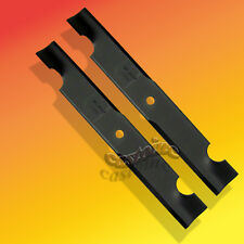 "Set 2 Heavy Duty Mower Blades For Bobcat/Exmark 36"" Cut Mower, Many Other Brands"