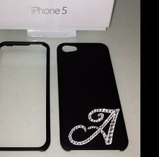 A TO Z YOU PICK Crystal APPLE Bling Case For Iphone 5 5s w/ Swarovski Elements