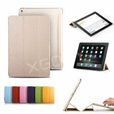 New Smart Cover With Back Case for Apple iPad 4 3 2 iPad Air 2 iPad mini 3 2 1