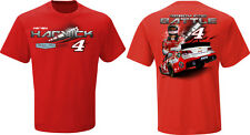 2015 KEVIN HARVICK #4 BUDWEISER LITE EM UP RED 100% COTTON NASCAR TEE SHIRT
