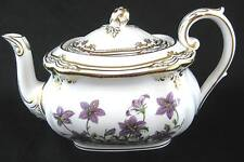 Spode Stafford Flower England Fine Bone China Teapot and Lid