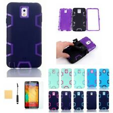For Samsung Galaxy Note 3 Hybrid Rubber ShockProof Protective Hard Case Cover