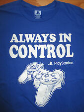 "Play Station ""ALWAYS IN CONTROL"" (LG) T-Shirt"