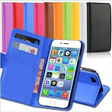 Leather Flip Stand Purse Wallet Credit Card Case Pouch Cover for iPhone 6 Plus 5