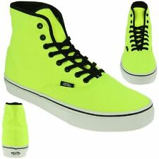 VANS Classic Authentic Lo Per Sneaker Skater neon yellow NEW