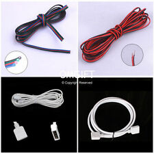 2Pin/4Pin/RGB Extension Wire Connector Cable Connector For 3528 5050 LED Strip