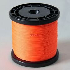 PE Dyneema 500M 546YDS 6lb-100lbs Braided Sea Fishing Line Super Spectra Orange