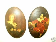 Vintage Pair, 7in x 4in each, Thomas Lawrence, The Red and Blue 18th C Boys