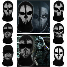 Balaclava Ghost Skull Face Mask Bike Skateboard Hooded Cos Costume Call of Duty