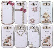 Luxury Crystal Cute Pattern Transparent Case Cover For Samsung Galaxy S3 i9300