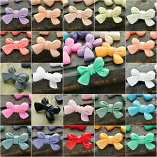 Resin Fashion Bow Tie Flatback Cabochons 23x14 Cameo 22 Colour Choose Wholesale