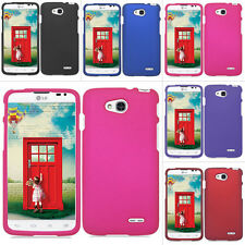 For LG Optimus L90 Exceed 2 W7 Color Rubberized Hard Case Phone Cover Accessory