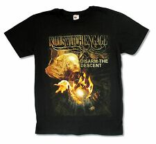 KILLSWITCH ENGAGE DISARM THE DESCENT BLACK SLIM FIT T-SHIRT NEW OFFICIAL ADULT