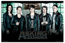 Asking Alexandria Window Poster New - Maxi Size 36 x 24 Inch