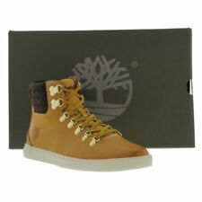 Timberland Groveton Alpine Hiker Mens Wheat Leather Ankle Boots Size UK 8-11