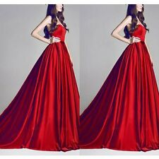 Women Chiffon Bridesmaid Formal Gown Ball Party Cocktail Evening Prom Dress