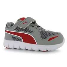 Puma Kids Childrens Boys Blur Nylon Runners Velcro Strap Trainers Sports Shoes