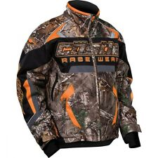 Castle X Youth Boys Bolt G3 Realtree/Orange Snowmobile Jacket sizes XS-XL