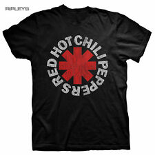 Official T Shirt RED HOT CHILI PEPPERS   Classic Black Asterix All Sizes