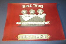 Wholesale Lot of 25 Original Old Antique - THREE TWINS - Inner CIGAR LABELS