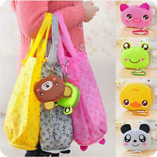 Eco Cotton Storage Handbag Cute Foldable Shopping Tote Reusable shopping Bags