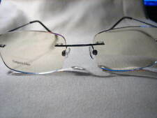 FRAMELESS Very Lightweight COMPUTER READING GLASSES almost invisible #1098c