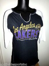 LOS ANGELES LAKERS WOMANS JERSEY FASHION LACE SHIRT NEW WITH $40 TAGS