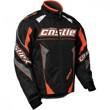 Castle X Bolt G4 Flo Orange Snowmobile Jacket  Mens sizes S-2XL
