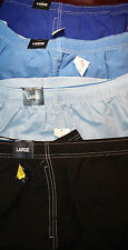 ROUNDTREE & YORKE Cotton Blend Mens Swim Trunks M L XL  NWT F-871 Ret $40