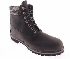 """Timberland A113T Mens 6"""" Inch Brown Camo Waterproof Boots Double Sole Camouflage"""