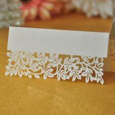 50pcs Table Place Name Cards Pack Blank for Wedding Party Conference Baby Shower
