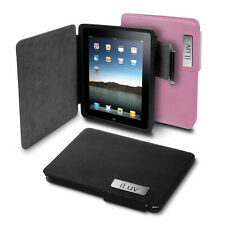 iLuv ICC806 Leather Cover for iPad with 2 different colors, New, FREE SHIPPING