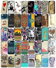 New Fashion Cute Animal Pattern Hard Case Cover For iphone 4 5 5S 5C 6 6S Plus